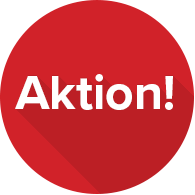 Aktions-Badge